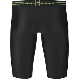 speedo Hydrosense Panel Jammer-uimahousut Miehet, black/green